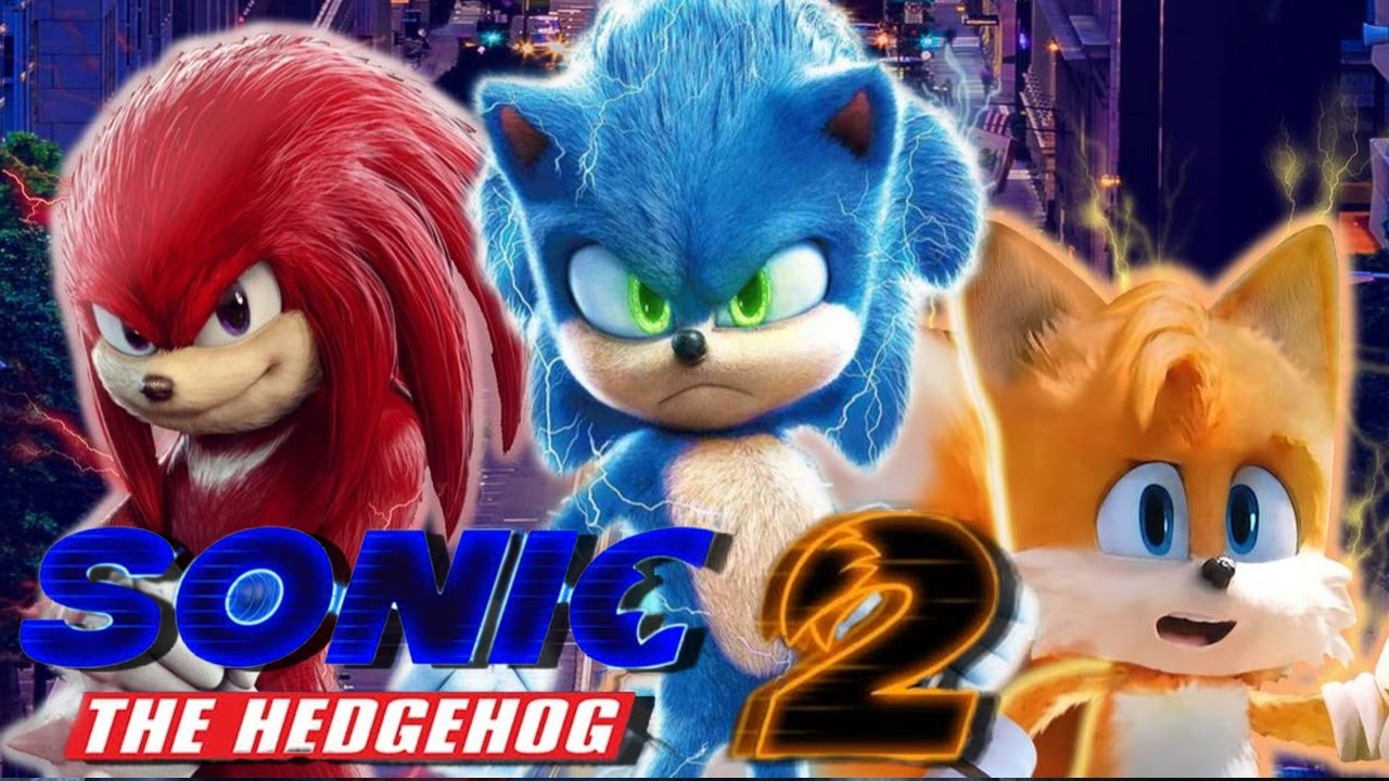 Tails & Knuckles fotografati sul set di Sonic The Hedgehog 2!