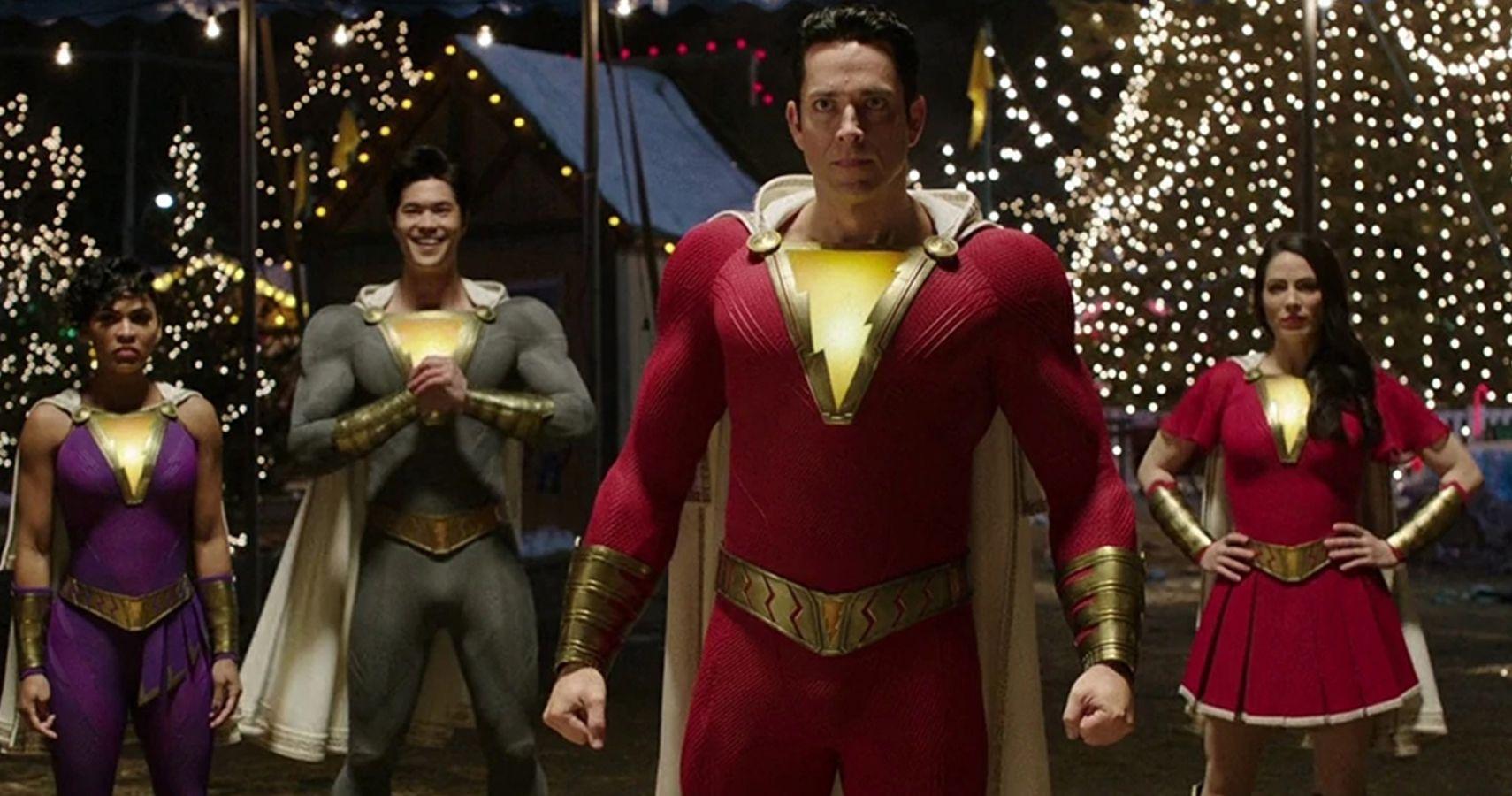 Shazam 2: foto dal set mostrano il nuovo costume di Levi