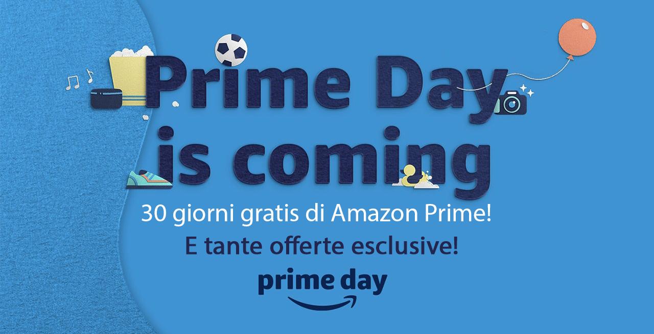 Amazon Prime: 30 giorni gratis! In attesa del Prime Day.