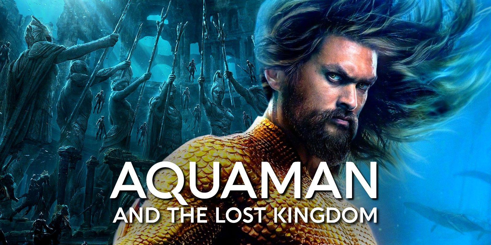 Aquaman 2: Jason Momoa annuncia l'inizio delle riprese con un video
